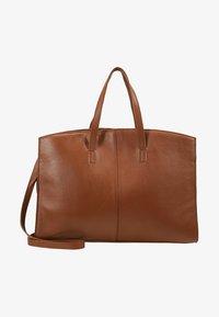 KIOMI - LEATHER - Laptop bag - cognac - 5