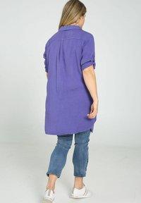 Paprika - Button-down blouse - purple - 2