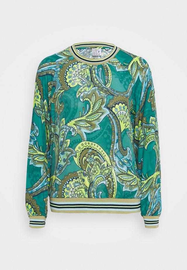 Langærmede T-shirts - green