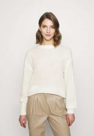 VICHIPPY NECK - Jumper - whisper white