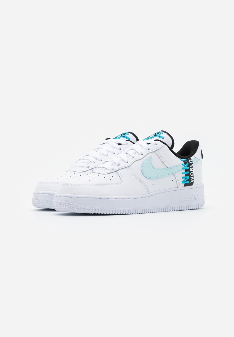 Nike Sportswear Air Force 1 07 Lv8 Ww Unisex Sneakers Laag White Blue Fury Black Wit Zalando Nl