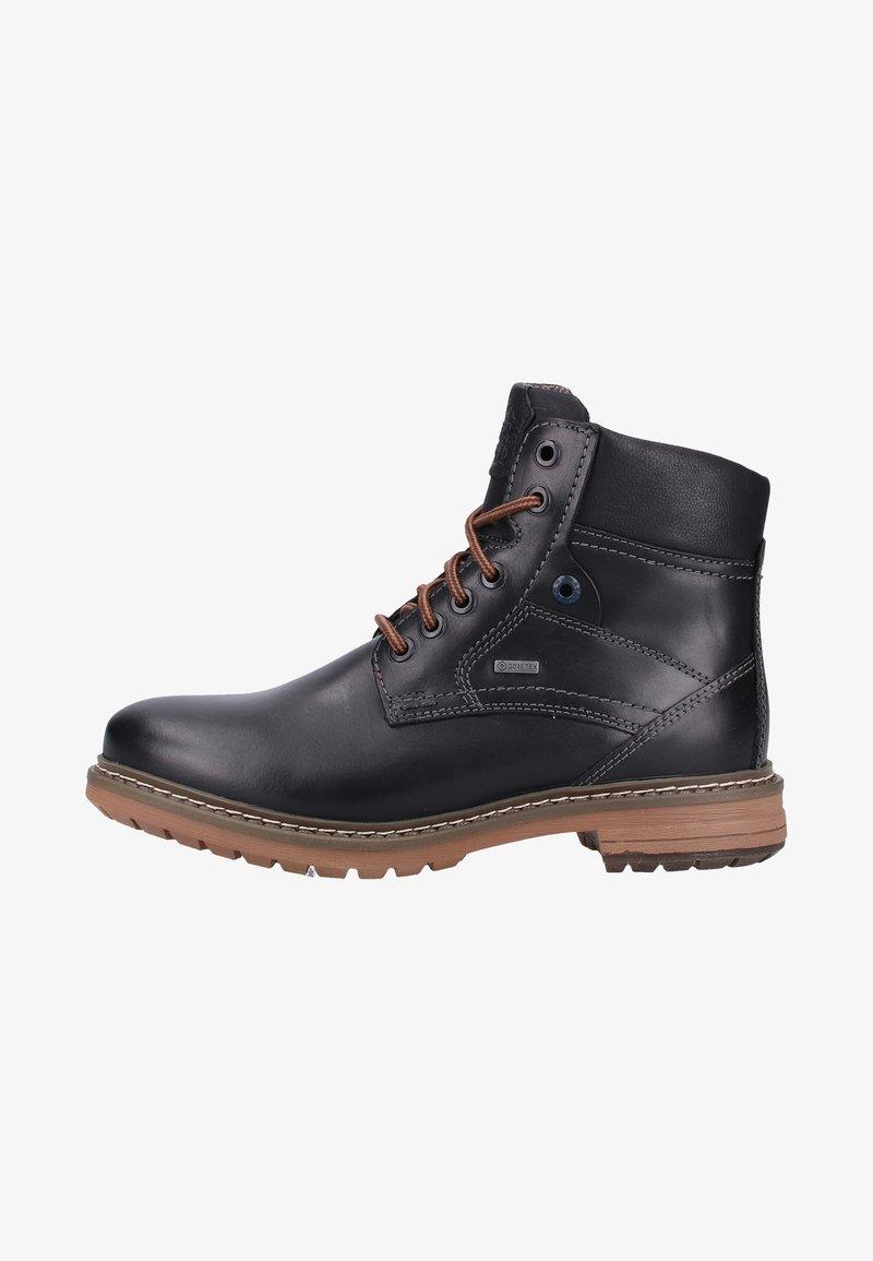 Fretz Men - Lace-up ankle boots - black