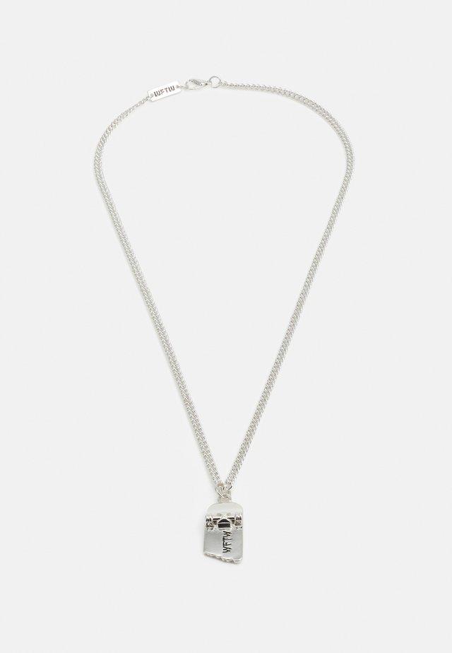 FREERIDER SKATEBOARD NECKLACE - Collana - silver-coloured