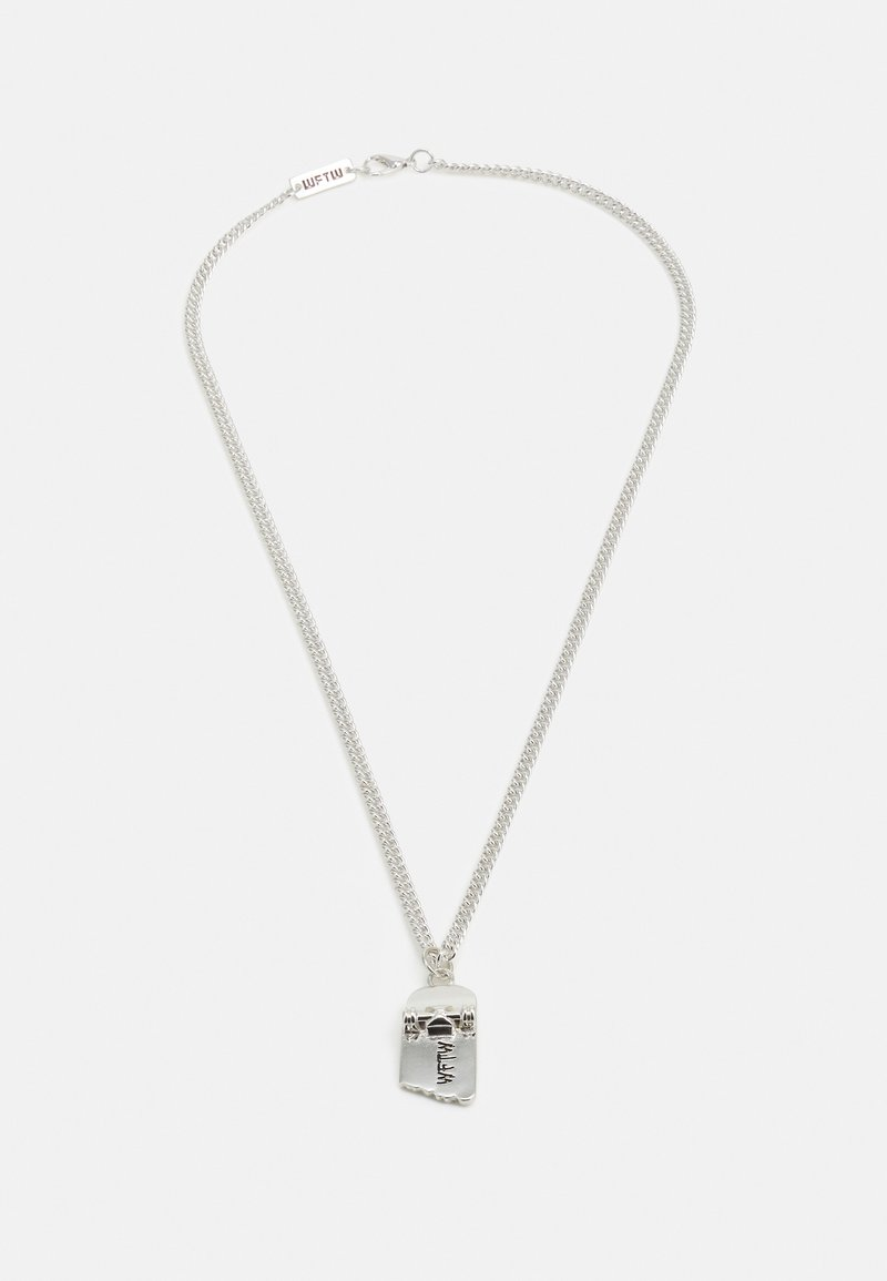 Wild For The Weekend - FREERIDER SKATEBOARD NECKLACE - Necklace - silver-coloured