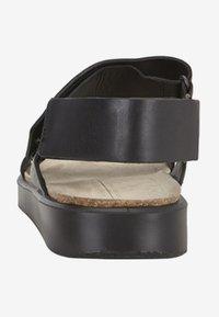 ECCO - CORKSPHERE  - Sandals - black - 6