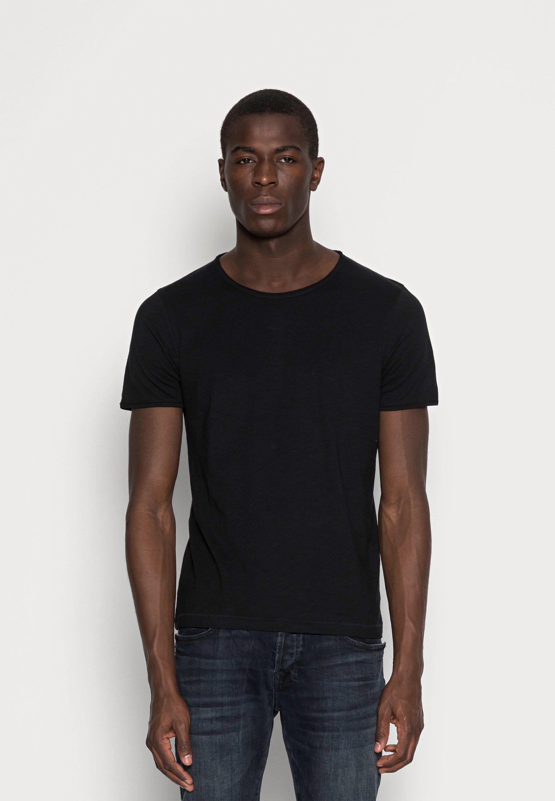 Uomo SLHMORGAN O-NECK TEE - T-shirt basic