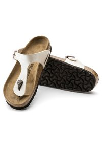 Birkenstock - GIZEH GRACEFUL - Sandalias de dedo - white - 4