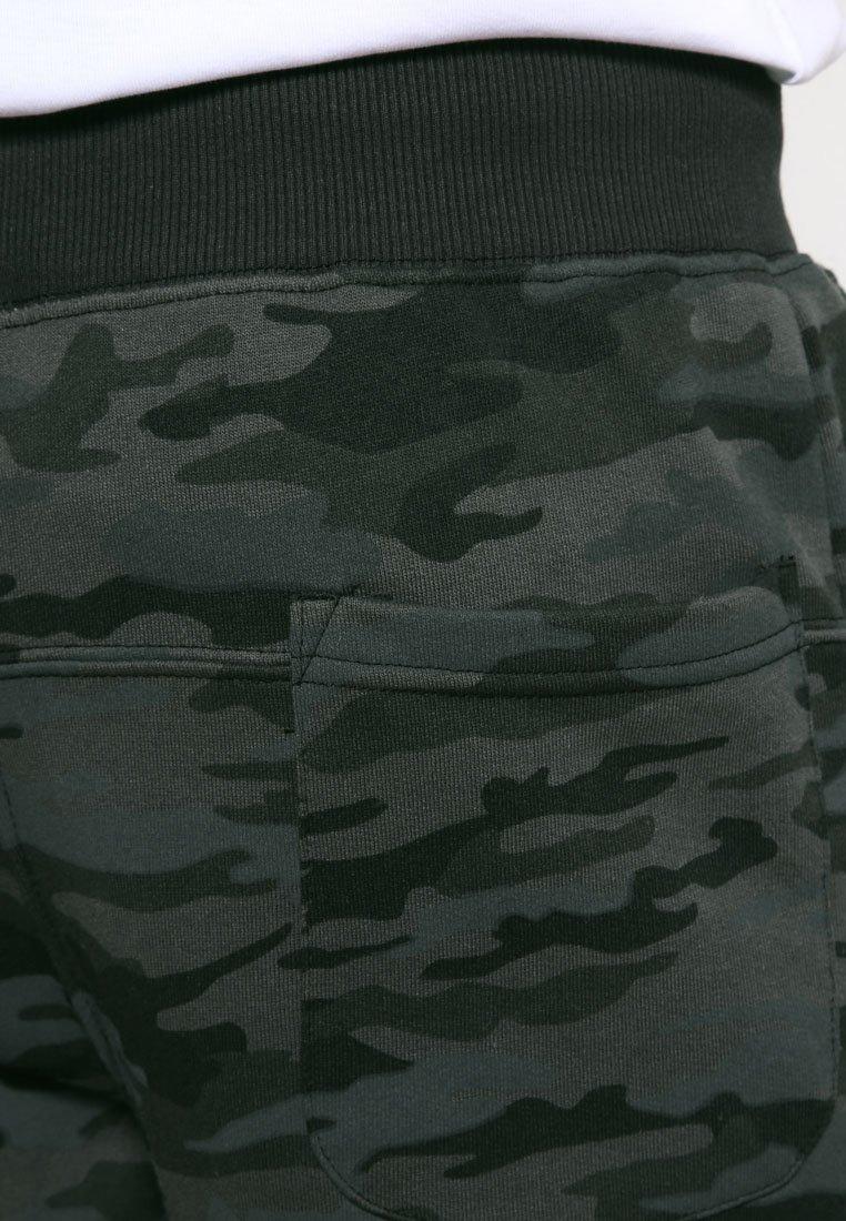 Alpha Industries FIT PANT - Jogginghose - black/schwarz meliert Gdc7RV