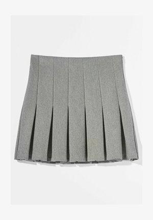 MIT KELLERFALTEN - Pleated skirt - light grey