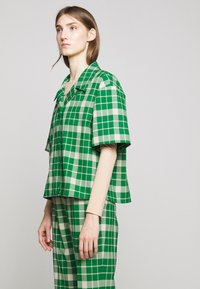 MM6 Maison Margiela - Button-down blouse - green - 3