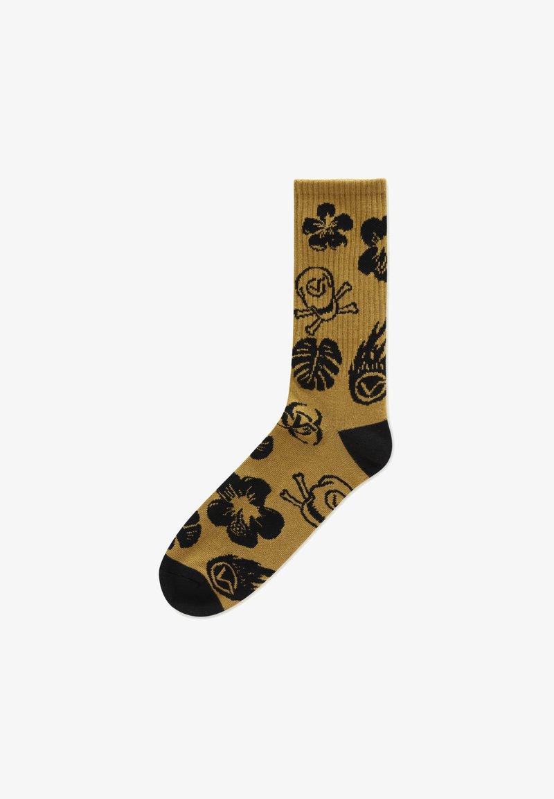 Vans - MN BEACH GOTH CREW (9.5-13, 1PK) - Socks - brown