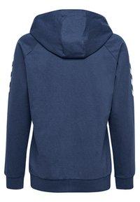 Hummel - HMLGO - Zip-up hoodie - true blue - 1