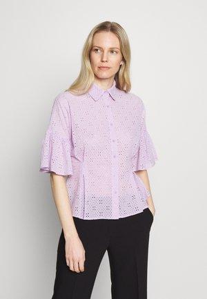 MARINA BLOUSE - Bluser - violet