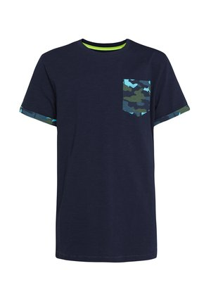 T-shirt con stampa - dark blue