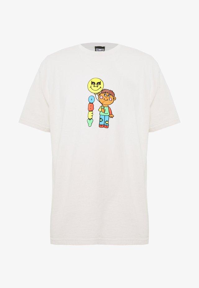 BALLOON - T-shirt con stampa - cream
