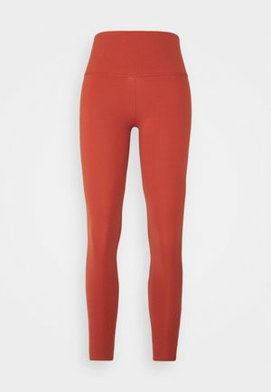 THE NIKE YOGA LUXE 7/8 - Tights - rugged orange/light sienna