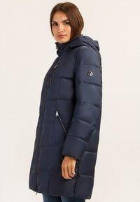 Finn Flare - MIT MODISCHER BRUSTTASCHE - Winter coat - cosmic blue - 3