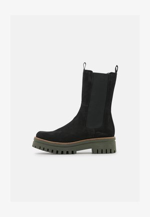 SAVINA - Kotníkové boty na platformě - black
