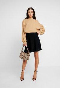 Nümph - NEW NULILLYPILLY SKIRT - A-line skirt - caviar - 1