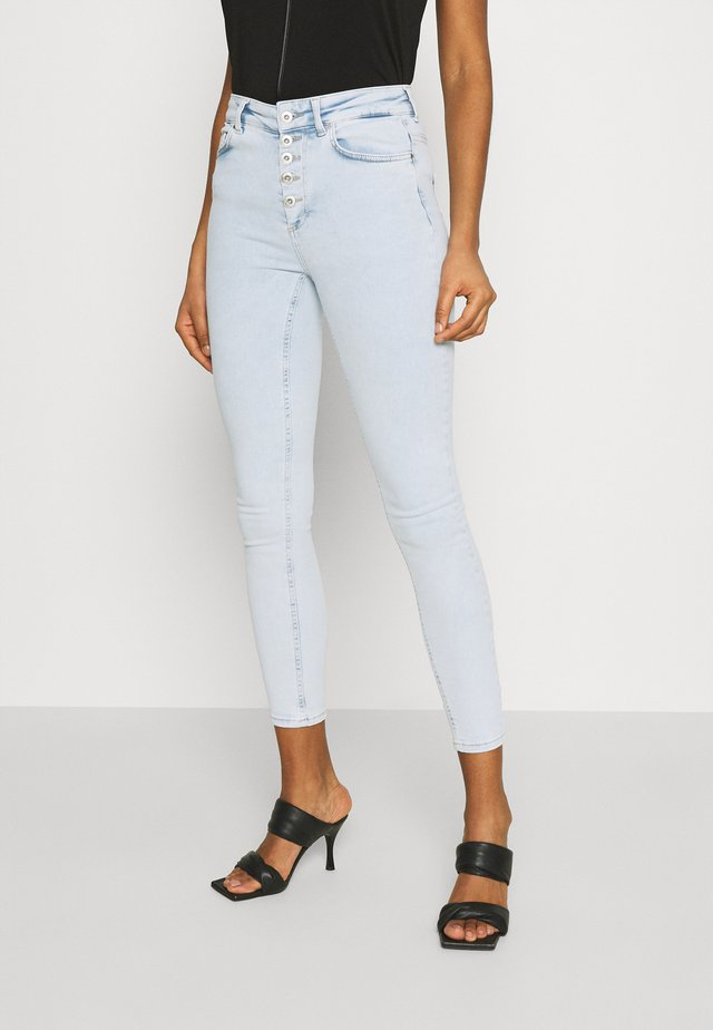 ONLBLUSH LIFE - Skinny džíny - light blue denim