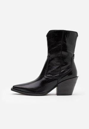 TONI - Kovbojské/motorkářské boty - schwarz