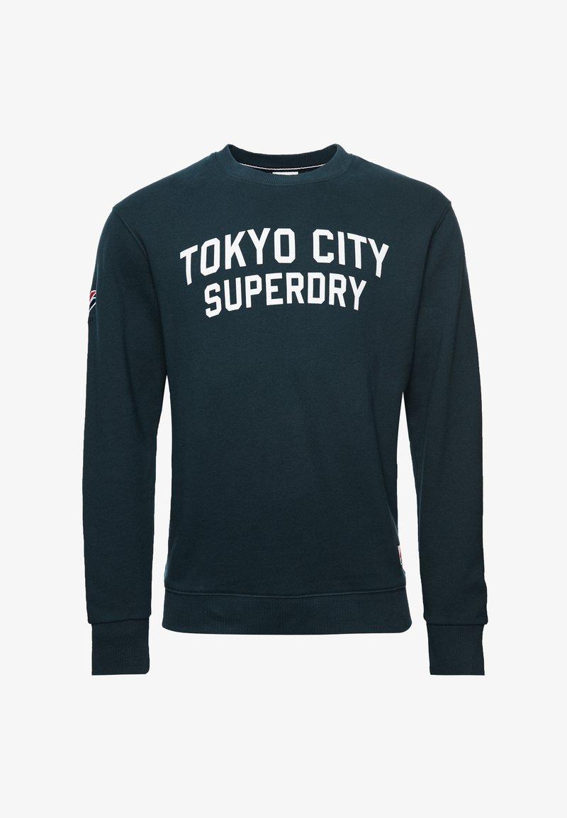 Superdry - CITY COLLEGE - Sweatshirt - eclipse navy