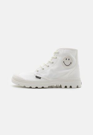 PAMPA HI BE KIND UNISEX - Lace-up ankle boots - star white