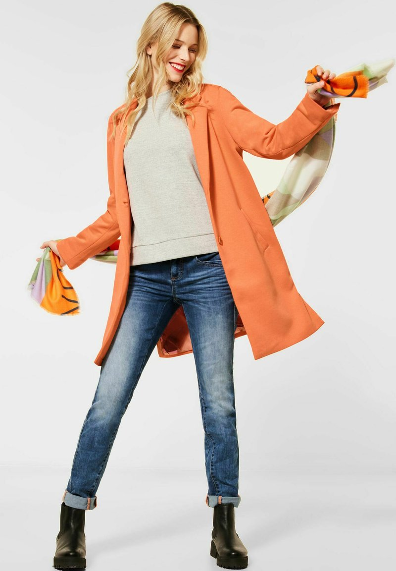 Street One - Short coat - orange
