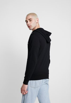 BRIERO - veste en sweat zippée - black