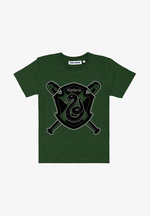 HARRY POTTER SLYTHERIN QUIDDITCH TEE - Print T-shirt - green