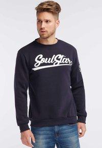SOULSTAR - Sweatshirt - marine - 0