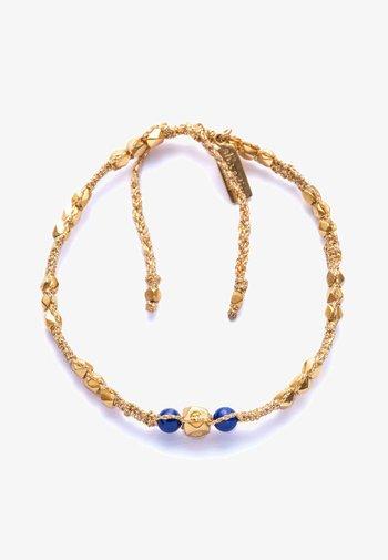 Bracelet - gold, blue
