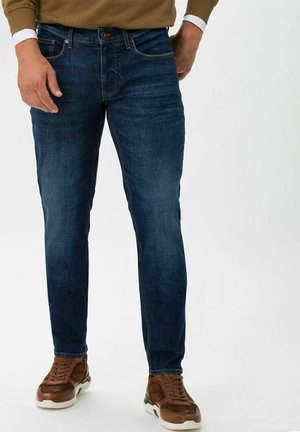 STYLE CHRIS - Slim fit jeans - raw blue used