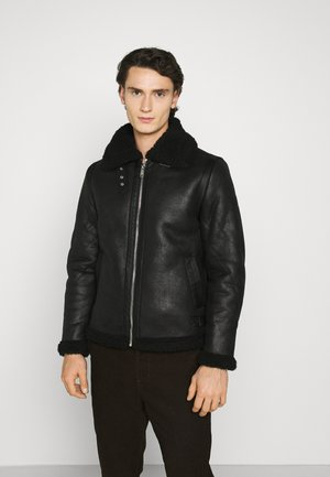 GIBSON AVIATOR - Summer jacket - black