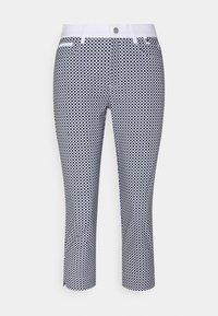 Golfino - RACING CAPRI - 3/4 sports trousers - optic white - 0