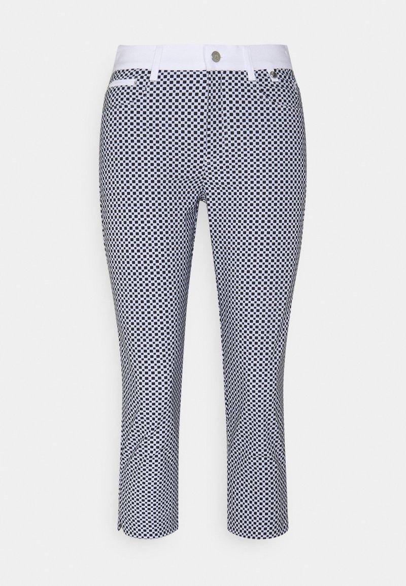 Golfino - RACING CAPRI - 3/4 sports trousers - optic white