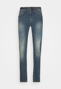 SCRATCHES - Slim fit jeans - denim vintage blue