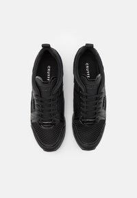 Cruyff - LUSSO - Sneakers laag - black/gold - 3