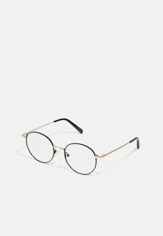 I SEE YOU - Sunglasses - black/gold-coloured