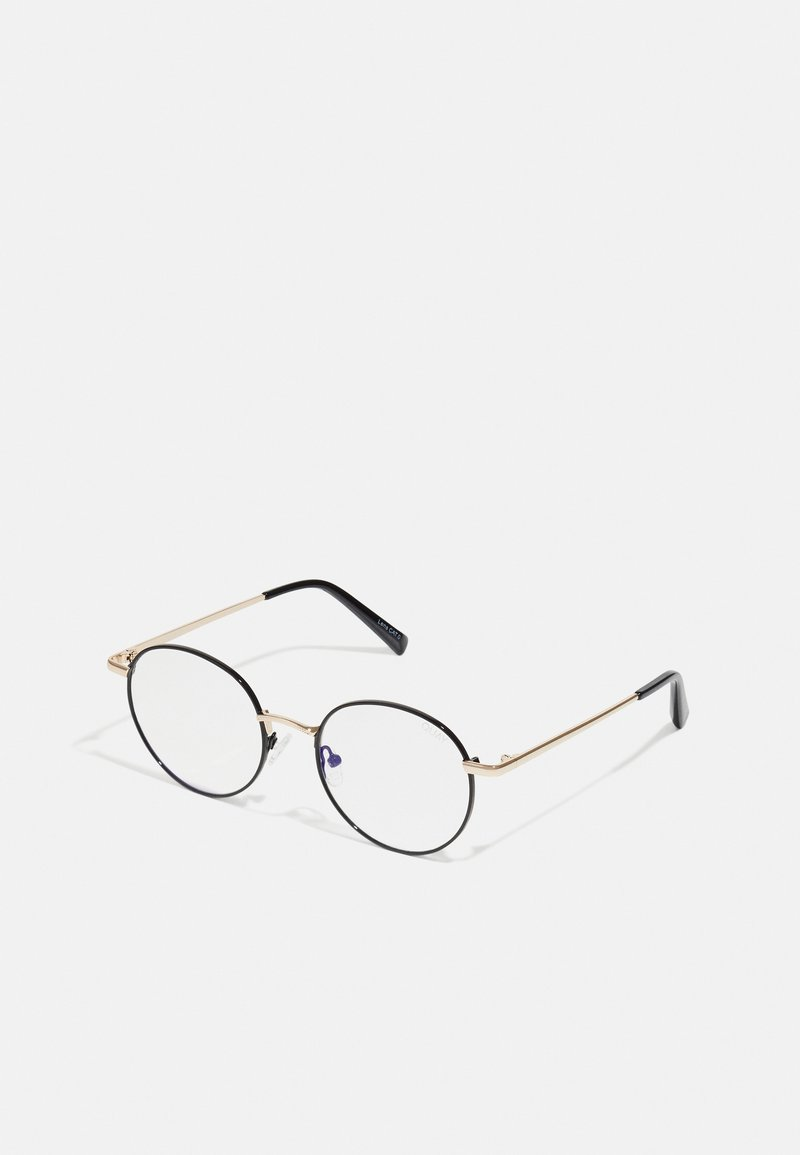QUAY AUSTRALIA - I SEE YOU - Sunglasses - black/gold-coloured