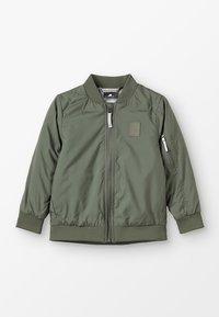 Didriksons - ROCIO KIDS JACKET - Outdoor jacket - khaki - 0
