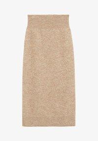 Mango - TALDORA - Pencil skirt - marron moyen - 5