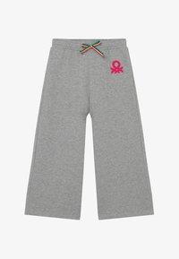 Benetton - Spodnie materiałowe - grey - 2