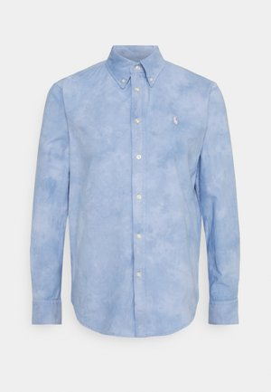 RELAXED LONG SLEEVE - Button-down blouse - lake blue
