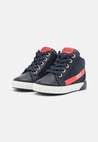 BOSS Kidswear - TRAINERS - High-top trainers - navy - 1
