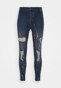SIKSILK - DISTRESSED RIOT - Jeans Skinny Fit - midstone - 3