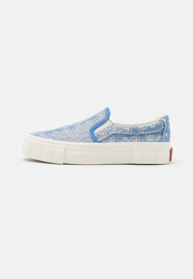 YESS PAISLEY UNISEX - Sneakers basse - blue