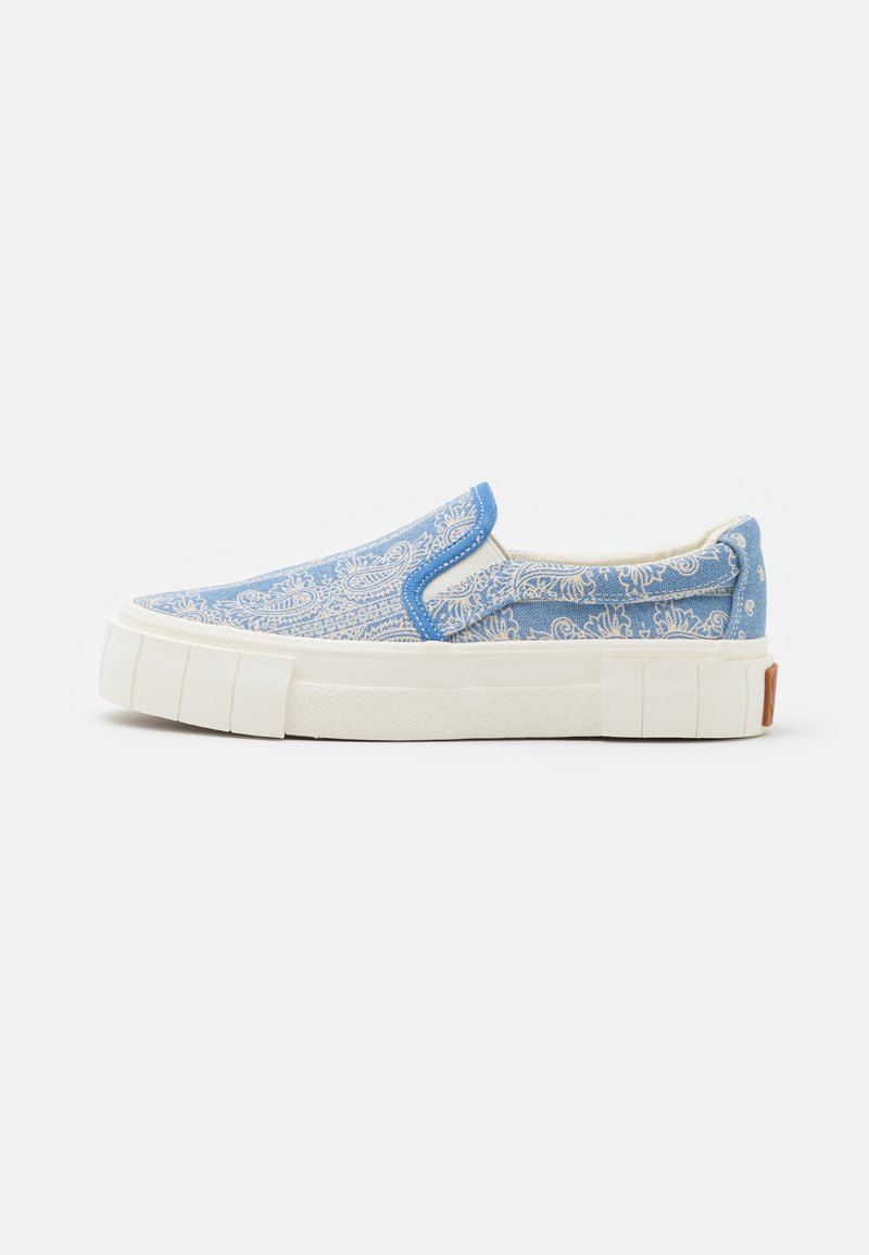 Good News - YESS PAISLEY UNISEX - Trainers - blue