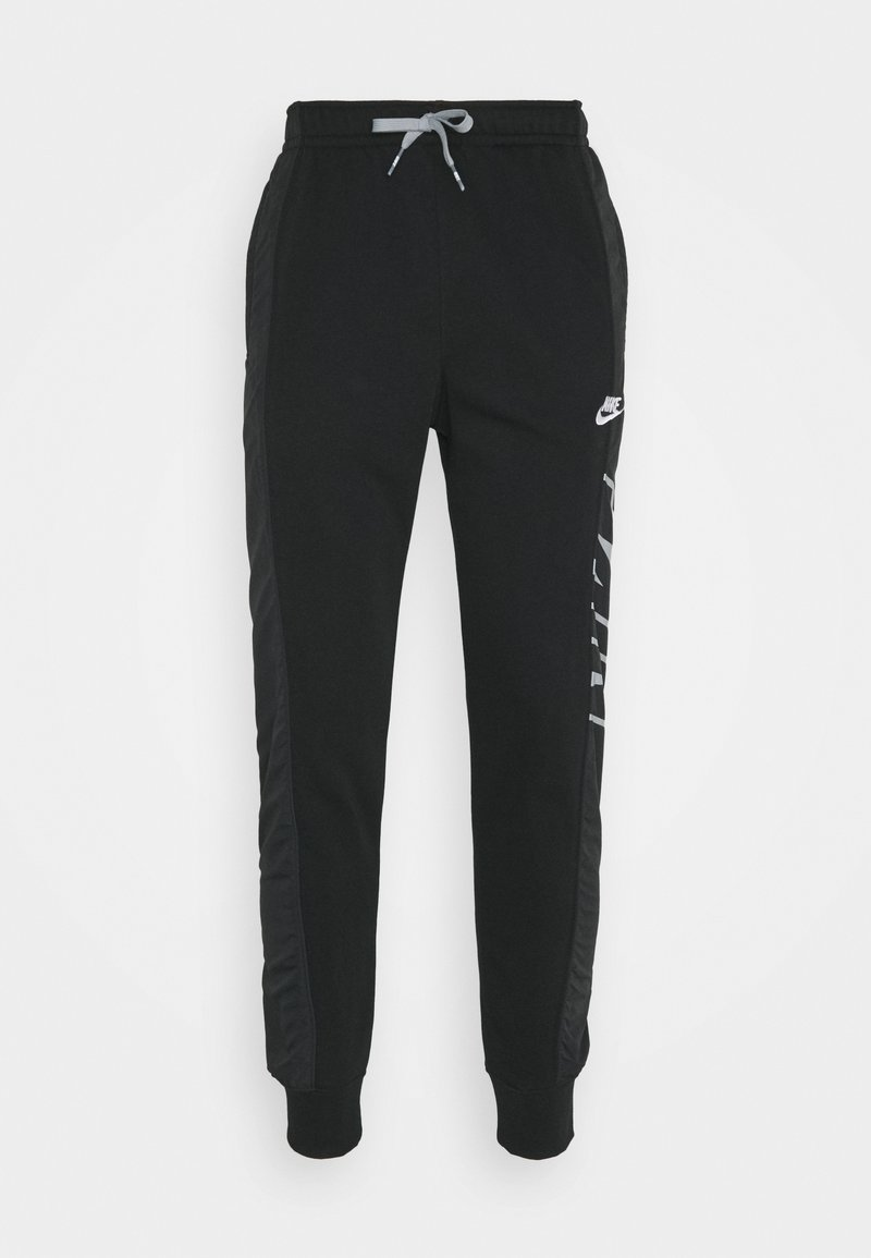 Nike Sportswear - Tracksuit bottoms - black/particle grey/white