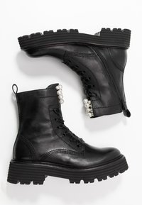 Kennel + Schmenger - POWER - Platform ankle boots - schwarz - 3